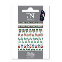 Pronails Nail Stickers Folk Flowers