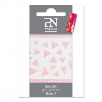 ProNails Glass Nail Stickers Triangle