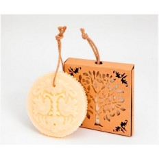 LOVE BIRD Apricot Flower Tree Bird 225g Soap