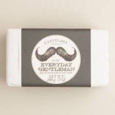 Castelbel Everyday Gentleman Bay Rum 200g soap - palasaippua