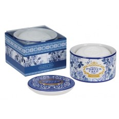 Portus Cale Gold & Blue 150g Soap in Container - palasaippua