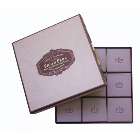 Castelbel Ambiente Fig and Pear S/9 Guest Soaps 25g