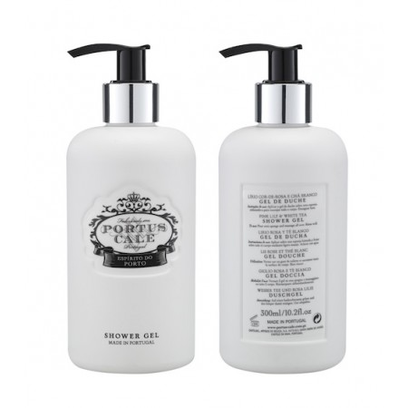 Portus Cale Floral Toile Shower Gel / Hand and Body Wash 300ml