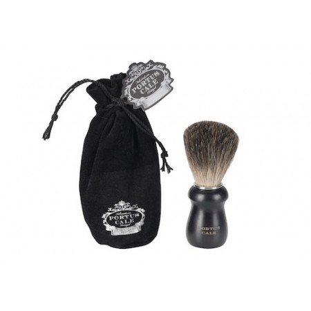Portus Cale Black Edition Badger Hair Shaving Brush -parranajosuti