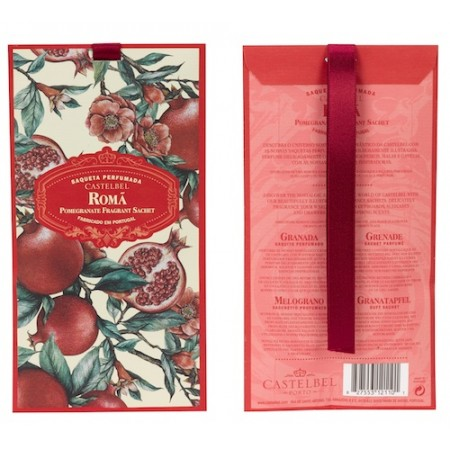 Castelbel Ambiente Pomegranate Fragranced Sachet