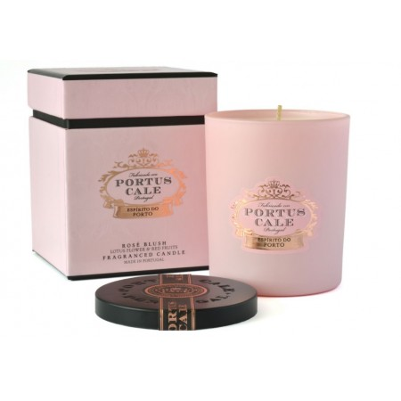 Portus Cale Rose Blush Fragranced Candle