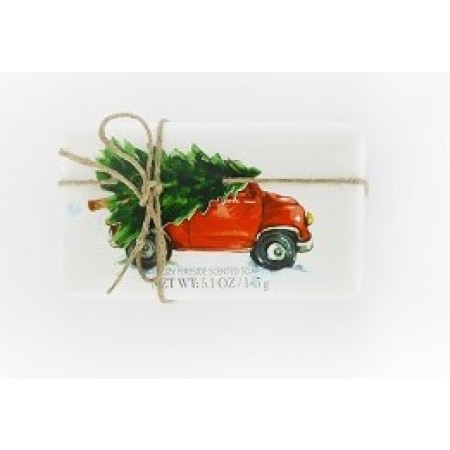 Castelbel XmasTree Cozy Fireside Soap 145g