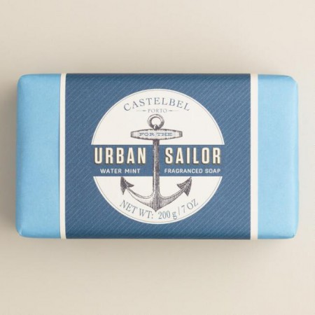 Castelbel Urban Sailor Water Mint 200g soap - palasaippua